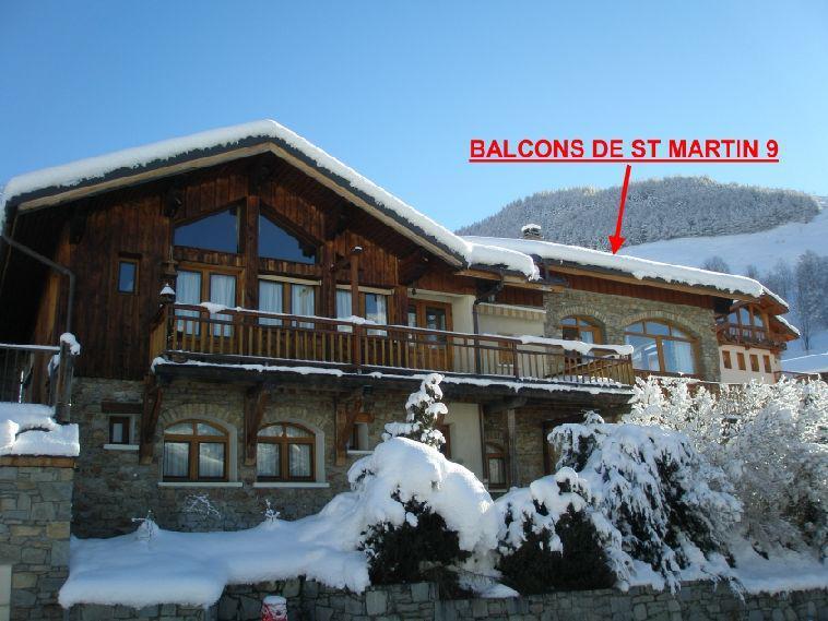 Vacances en montagne Les Balcons de St Martin - Saint Martin de Belleville
