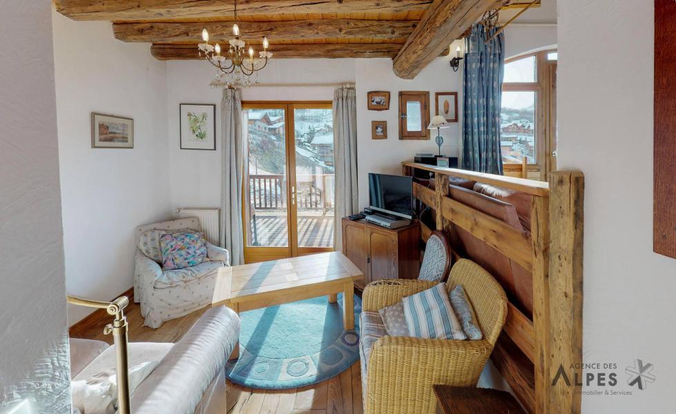 Vacances en montagne Chalet triplex 6 pièces 10 personnes - Les Balcons de St Martin - Saint Martin de Belleville - Plan