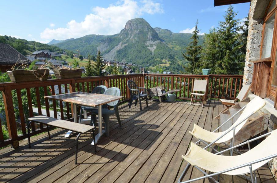 Vacances en montagne Chalet triplex 6 pièces 10 personnes - Les Balcons de St Martin - Saint Martin de Belleville - Extérieur été