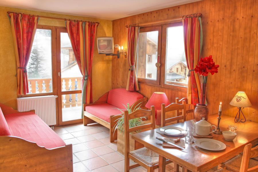 Urlaub in den Bergen Les Balcons de Val Cenis le Haut - Val Cenis - Wohnzimmer