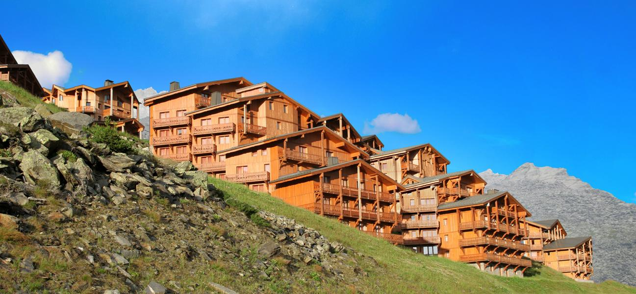 Holiday in mountain resort Les Balcons de Val Thorens - Val Thorens - Summer outside