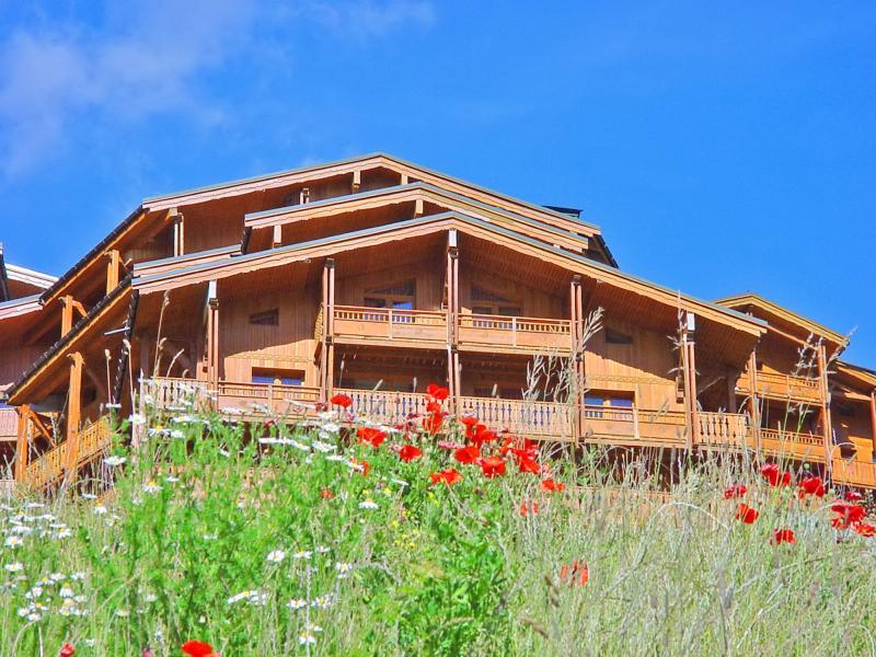 Vacances en montagne Les Balcons de Val Thorens - Val Thorens - Extérieur été