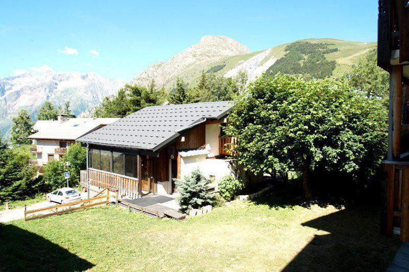 Holiday in mountain resort Studio 2 people - Les Balcons de Venosc - Les 2 Alpes