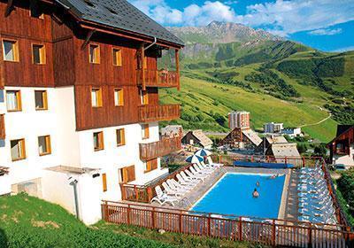 Location au ski Les Balcons Du Soleil - Saint-François Longchamp - Extérieur été