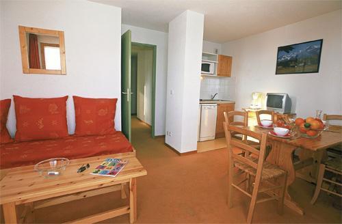 Vacances en montagne Appartement 2 pièces cabine 5-6 personnes - Les Balcons Du Soleil - Saint-François Longchamp - Séjour