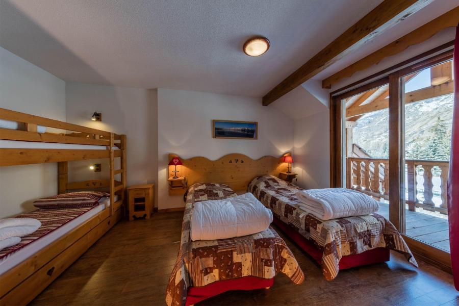 Vacances en montagne Les Balcons du Viso - Abriès - Chambre