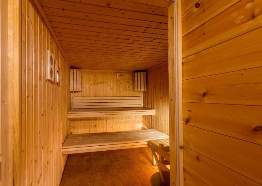Vacaciones en montaña Les Balcons du Viso - Abriès - Sauna