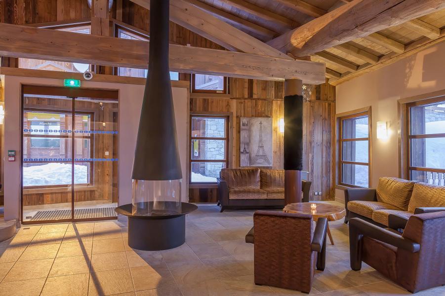 Vacances en montagne Les Balcons Platinium - Val Thorens - Réception