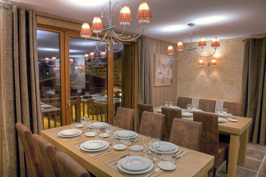 Vacances en montagne Les Balcons Platinium - Val Thorens - Salle à manger