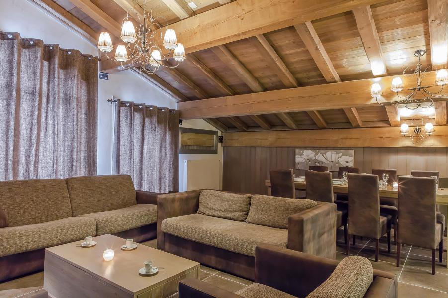 Holiday in mountain resort Les Balcons Platinium - Val Thorens - Settee