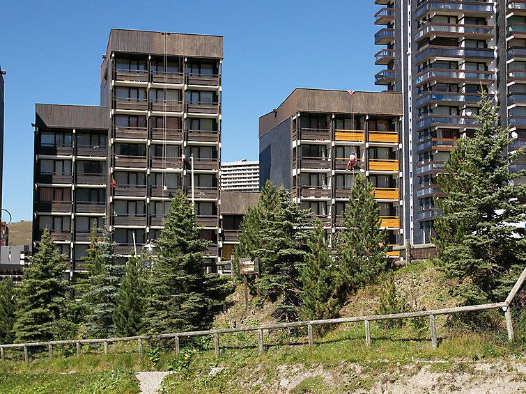 Holiday in mountain resort 2 room apartment 5 people (1) - Les Burons - Les Menuires - Summer outside