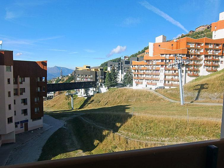 Holiday in mountain resort 1 room apartment 4 people (2) - Les Carlines 1 - Les Menuires - Accommodation