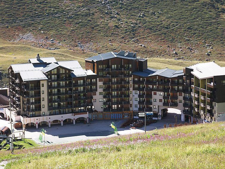 Holiday in mountain resort 1 room apartment 4 people (2) - Les Carlines 1 - Les Menuires - Summer outside
