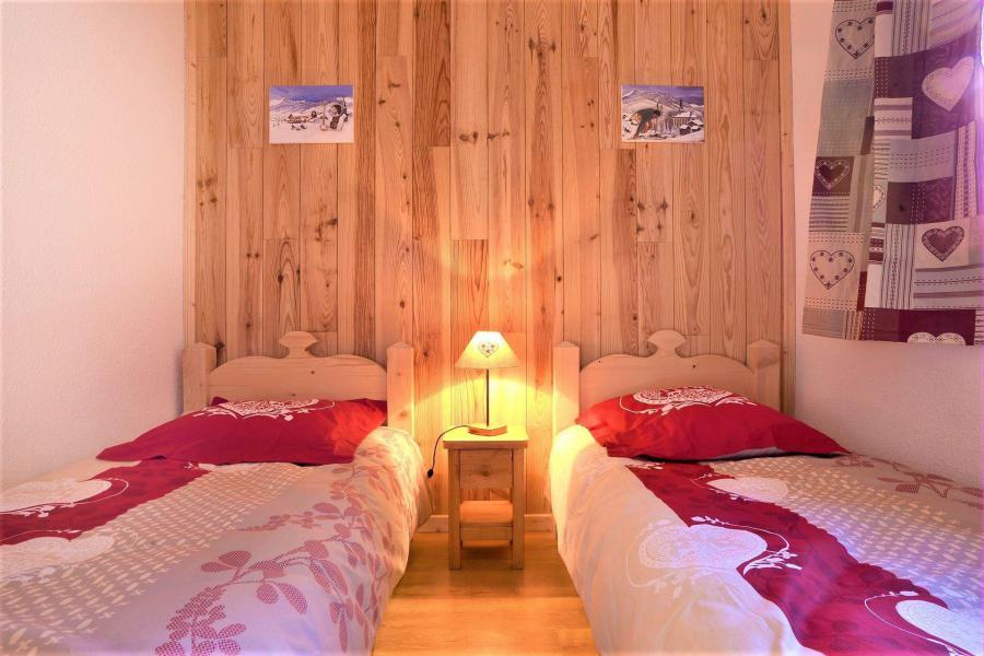 Wakacje w górach Apartament duplex 2 pokojowy 4 osób (401) - Les Chalets d'Aurouze - La Joue du Loup - Łóżkiem