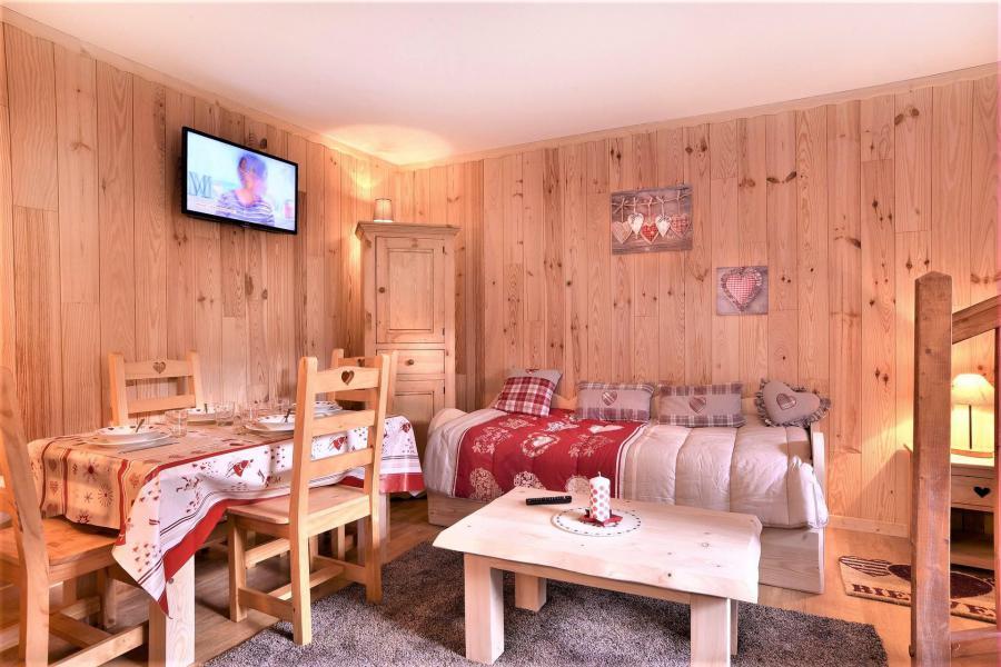 Wakacje w górach Apartament duplex 2 pokojowy 4 osób (401) - Les Chalets d'Aurouze - La Joue du Loup - Pokój gościnny