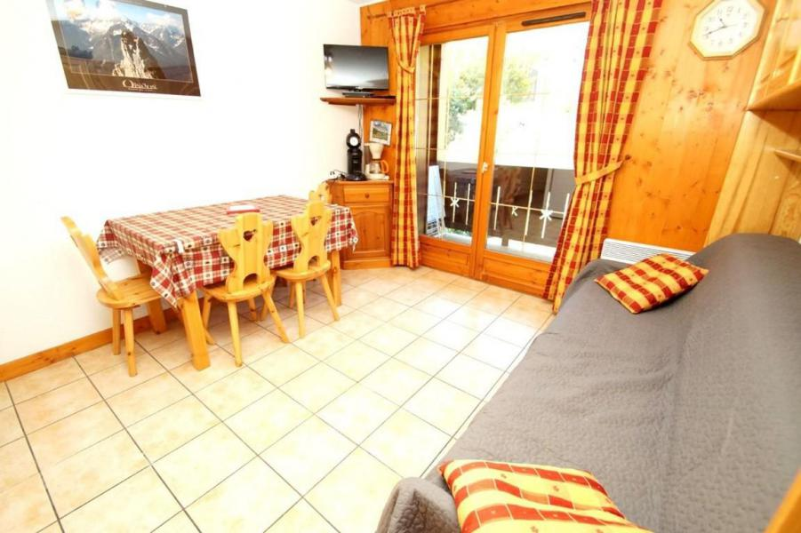 Holiday in mountain resort 3 room apartment 5 people (216) - Les Chalets d'Or - Les 2 Alpes - Living room