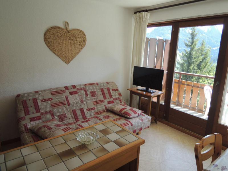 Vacances en montagne Appartement 2 pièces coin montagne 4 personnes (BBB4) - Les Chalets de Barbessine - Châtel - Canapé