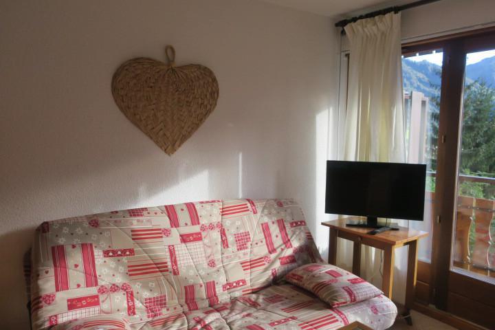 Vacances en montagne Appartement 2 pièces coin montagne 4 personnes (BBB4) - Les Chalets de Barbessine - Châtel - Séjour