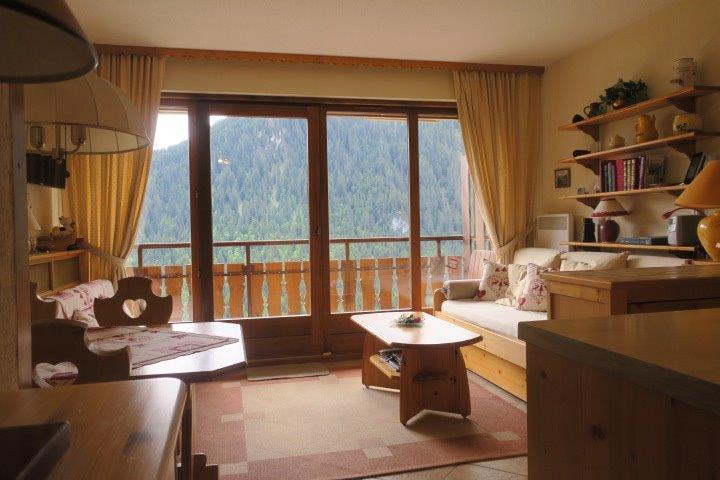 Vacances en montagne Appartement 2 pièces coin montagne 4 personnes (BBB9) - Les Chalets de Barbessine - Châtel - Séjour