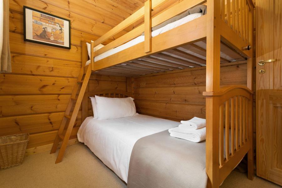 Vacances en montagne Les Chalets de Crête Côte Village - La Plagne - Lit mezzanine simple