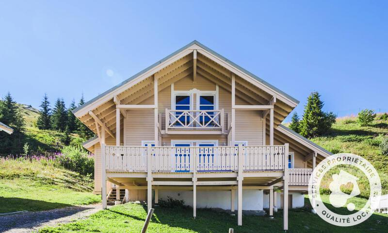 Vacances en montagne Chalet 7 pièces 12 personnes (180m²) - Les Chalets de Flaine Hameau - Maeva Home - Flaine - Extérieur été