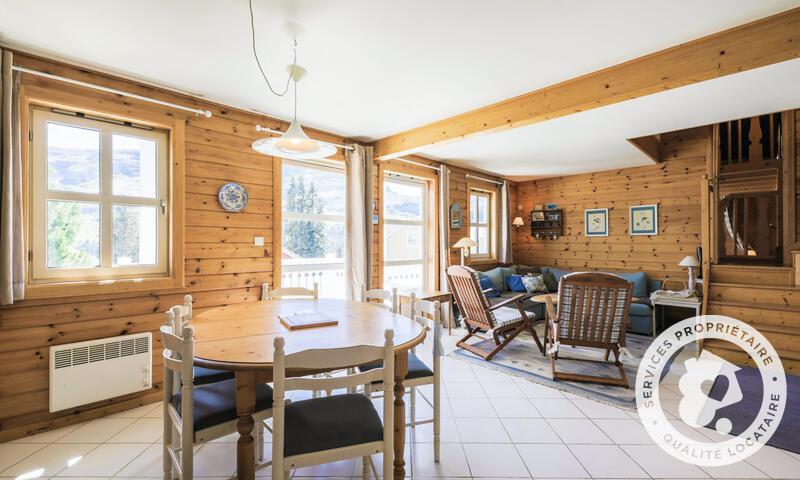Vacances en montagne Chalet 5 pièces 10 personnes (Sélection 110m²) - Les Chalets de Flaine Hameau - Maeva Home - Flaine - Table