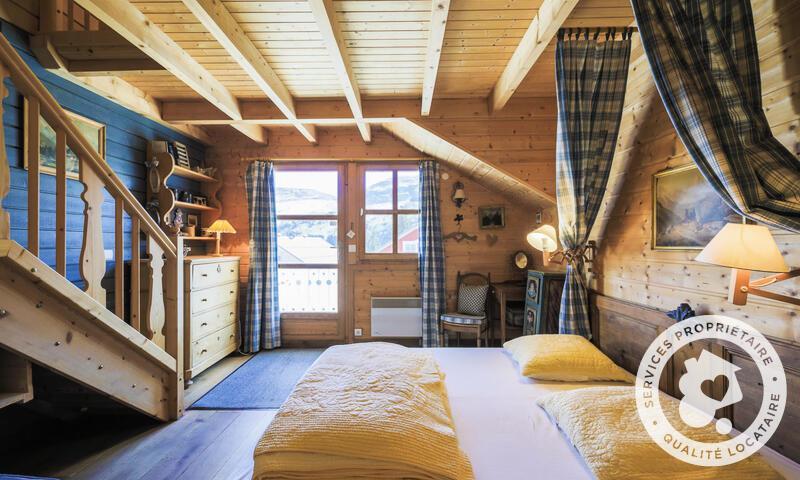 Vacances en montagne Chalet 5 pièces 10 personnes (Sélection 110m²) - Les Chalets de Flaine Hameau - Maeva Home - Flaine - Séjour
