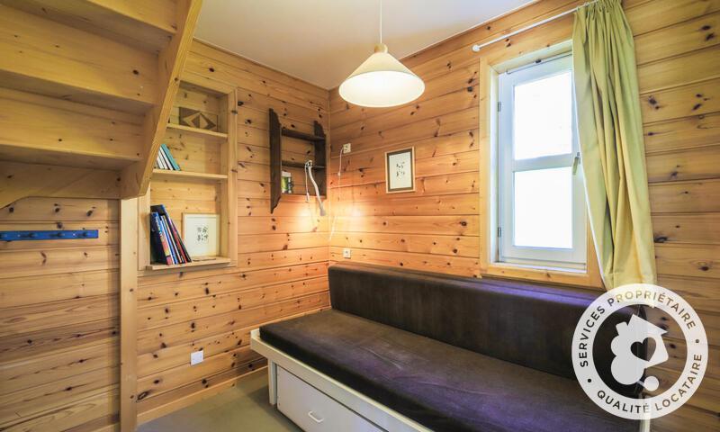 Vacances en montagne Chalet 5 pièces 10 personnes (Sélection 110m²) - Les Chalets de Flaine Hameau - Maeva Home - Flaine - Canapé