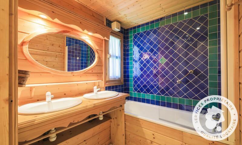 Vacances en montagne Chalet 5 pièces 10 personnes (Sélection 110m²) - Les Chalets de Flaine Hameau - Maeva Home - Flaine - Salle de bains