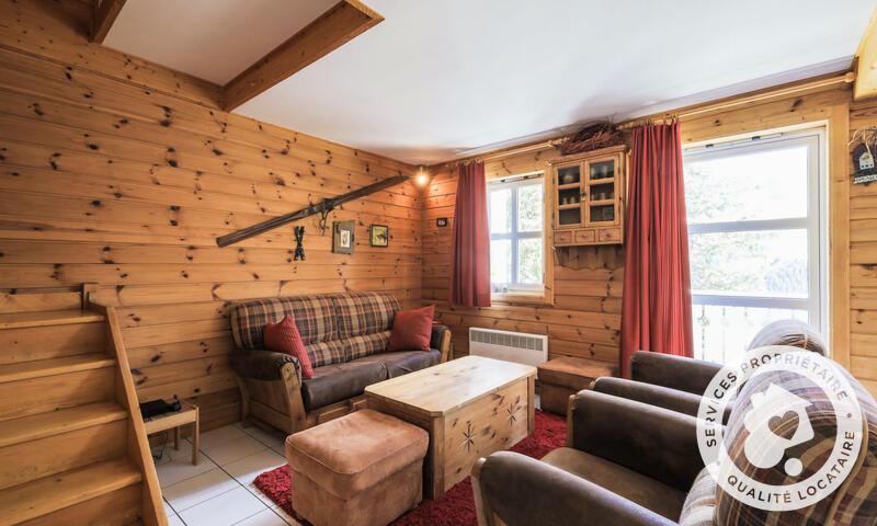Vacances en montagne Chalet 4 pièces 8 personnes (Sélection 84m²) - Les Chalets de Flaine Hameau - Maeva Home - Flaine - Séjour