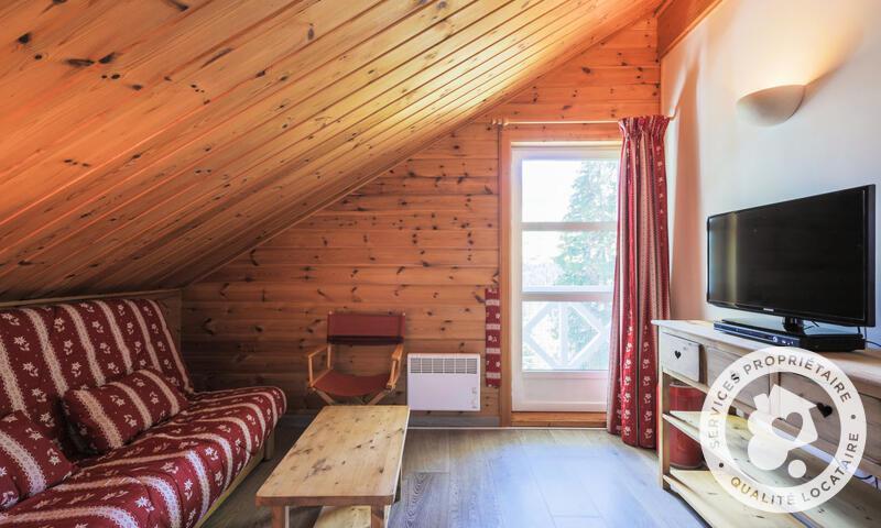 Vacances en montagne Chalet 4 pièces 8 personnes (Sélection 84m²) - Les Chalets de Flaine Hameau - Maeva Home - Flaine - Canapé