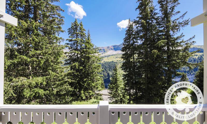 Vacances en montagne Chalet 4 pièces 8 personnes (Sélection 84m²) - Les Chalets de Flaine Hameau - Maeva Home - Flaine - Extérieur été
