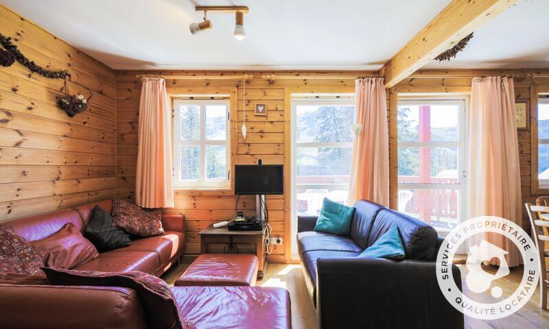Vacances en montagne Chalet 3 pièces 6 personnes (Confort 70m²) - Les Chalets de Flaine Hameau - Maeva Home - Flaine - Banquette-lit tiroir