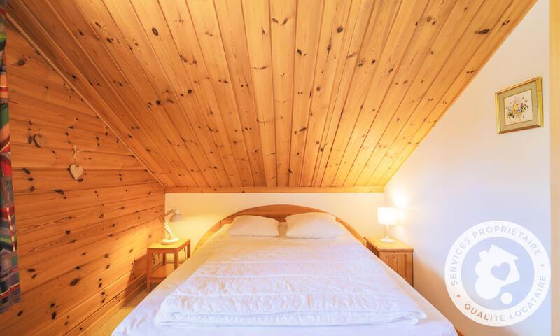 Vacances en montagne Chalet 3 pièces 6 personnes (Confort 70m²) - Les Chalets de Flaine Hameau - Maeva Home - Flaine - Chambre mansardée