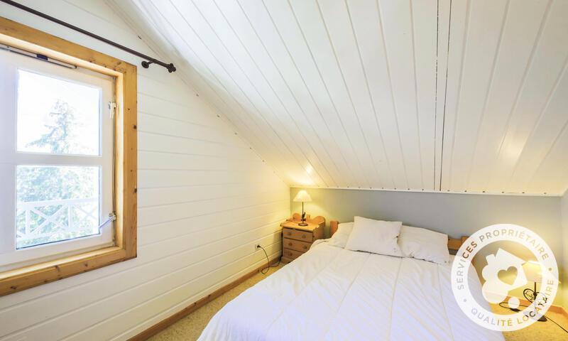 Vacances en montagne Chalet 4 pièces 8 personnes (Confort 110m²) - Les Chalets de Flaine Hameau - Maeva Home - Flaine - Banquette-lit