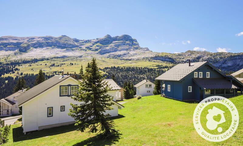 Vacances en montagne Chalet 3 pièces 8 personnes (Confort 84m²) - Les Chalets de Flaine Hameau - Maeva Home - Flaine - Extérieur été