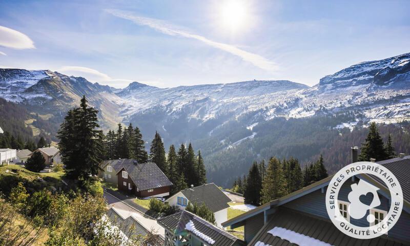 Vacances en montagne Chalet 7 pièces 12 personnes (Sélection 145m²) - Les Chalets de Flaine Hameau - Maeva Home - Flaine - Extérieur été