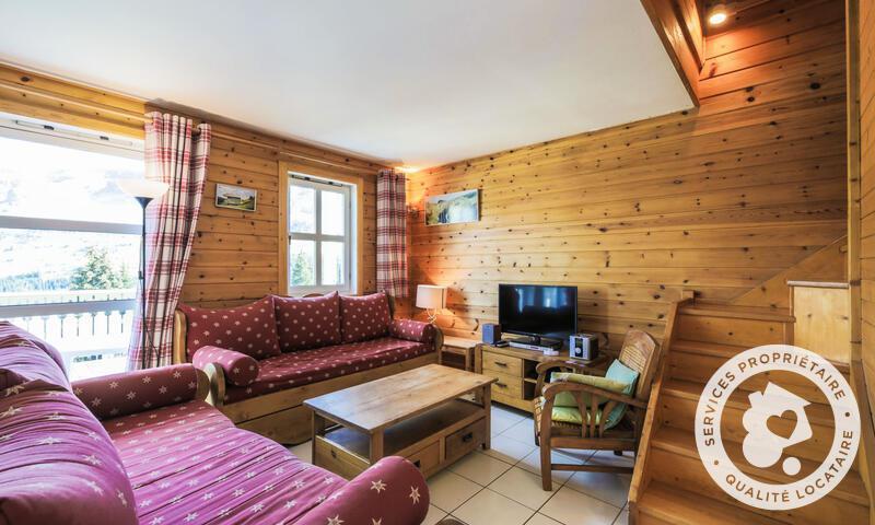 Vacances en montagne Chalet 6 pièces 10 personnes (Confort 125m²) - Les Chalets de Flaine Hameau - Maeva Home - Flaine - Table