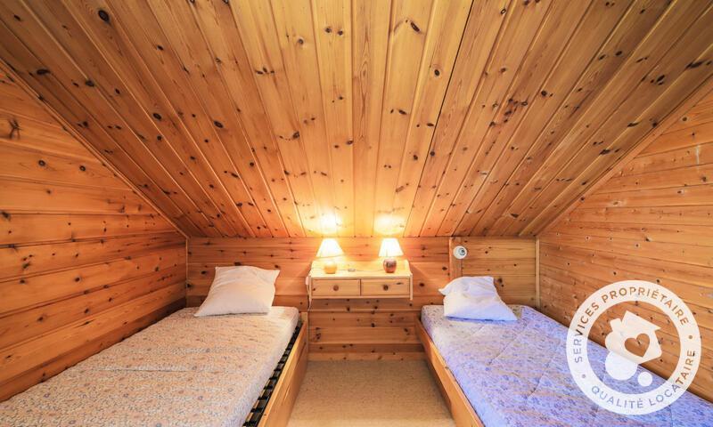 Vacances en montagne Chalet 6 pièces 10 personnes (Confort 125m²) - Les Chalets de Flaine Hameau - Maeva Home - Flaine - Chambre mansardée