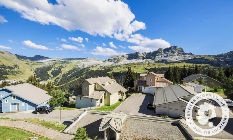 Vacances en montagne Chalet 6 pièces 10 personnes (Confort 125m²) - Les Chalets de Flaine Hameau - Maeva Home - Flaine - Extérieur été
