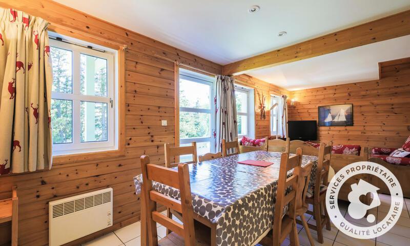 Vacances en montagne Chalet 4 pièces 8 personnes (Sélection 110m²) - Les Chalets de Flaine Hameau - Maeva Home - Flaine - Table