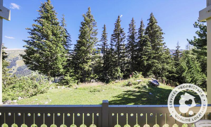 Vacances en montagne Chalet 4 pièces 8 personnes (Sélection 110m²) - Les Chalets de Flaine Hameau - Maeva Home - Flaine - Extérieur été