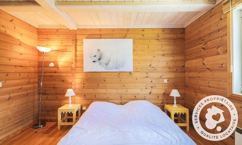Vacances en montagne Chalet 5 pièces 8 personnes (Sélection 110m²) - Les Chalets de Flaine Hameau - Maeva Home - Flaine - Lit double