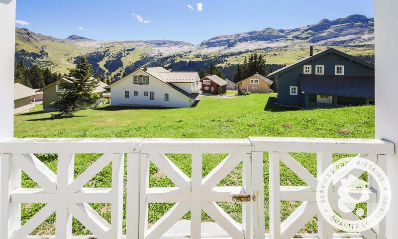 Vacances en montagne Chalet 5 pièces 8 personnes (Sélection 110m²) - Les Chalets de Flaine Hameau - Maeva Home - Flaine - Extérieur été