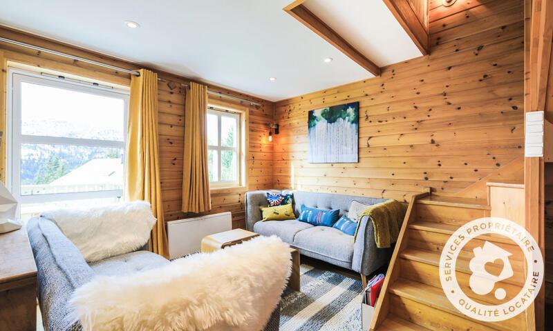 Vacances en montagne Chalet 4 pièces 6 personnes (Prestige 70m²) - Les Chalets de Flaine Hameau - Maeva Home - Flaine - Séjour