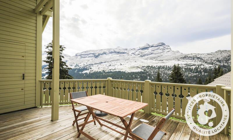 Vacances en montagne Chalet 4 pièces 6 personnes (Prestige 70m²) - Les Chalets de Flaine Hameau - Maeva Home - Flaine - Extérieur été
