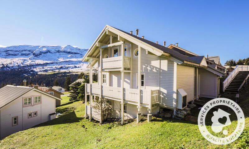 Vacances en montagne Chalet 5 pièces 10 personnes (Sélection 110m²) - Les Chalets de Flaine Hameau - Maeva Home - Flaine - Extérieur été