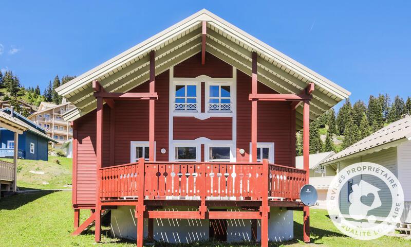 Location au ski Chalet 3 pièces cabine 6 personnes (Confort 70m²) - Les Chalets de Flaine Hameau - Maeva Particuliers - Flaine - Extérieur été