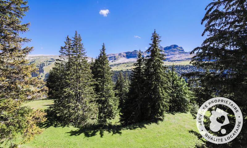 Location au ski Chalet 4 pièces 8 personnes (Confort 110m²) - Les Chalets de Flaine Hameau - Maeva Particuliers - Flaine - Extérieur été