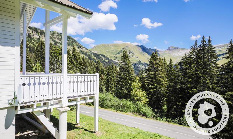 Location au ski Chalet 6 pièces 10 personnes (Prestige 110m²) - Les Chalets de Flaine Hameau - Maeva Particuliers - Flaine - Extérieur été